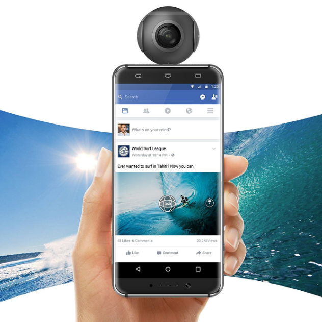 What do buyers of the Android 360 camera think