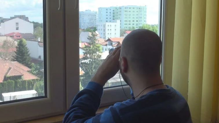 Deal With Spying Neighbors