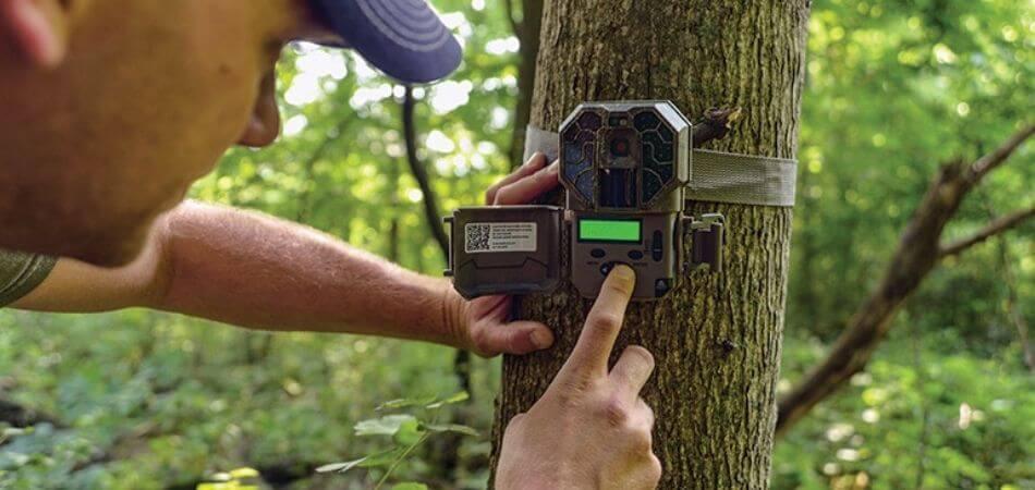 how to setup a trail camera