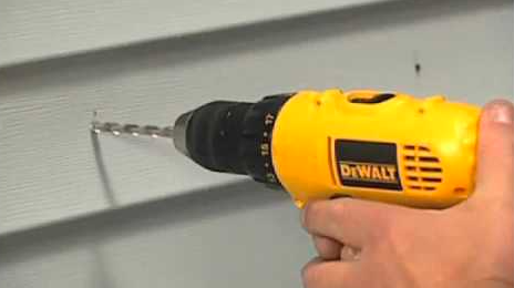 Get The Correct Drill Bit & Drill The Holes